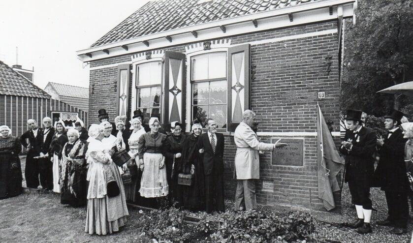 De opening van museum Grietje Tump in 1979