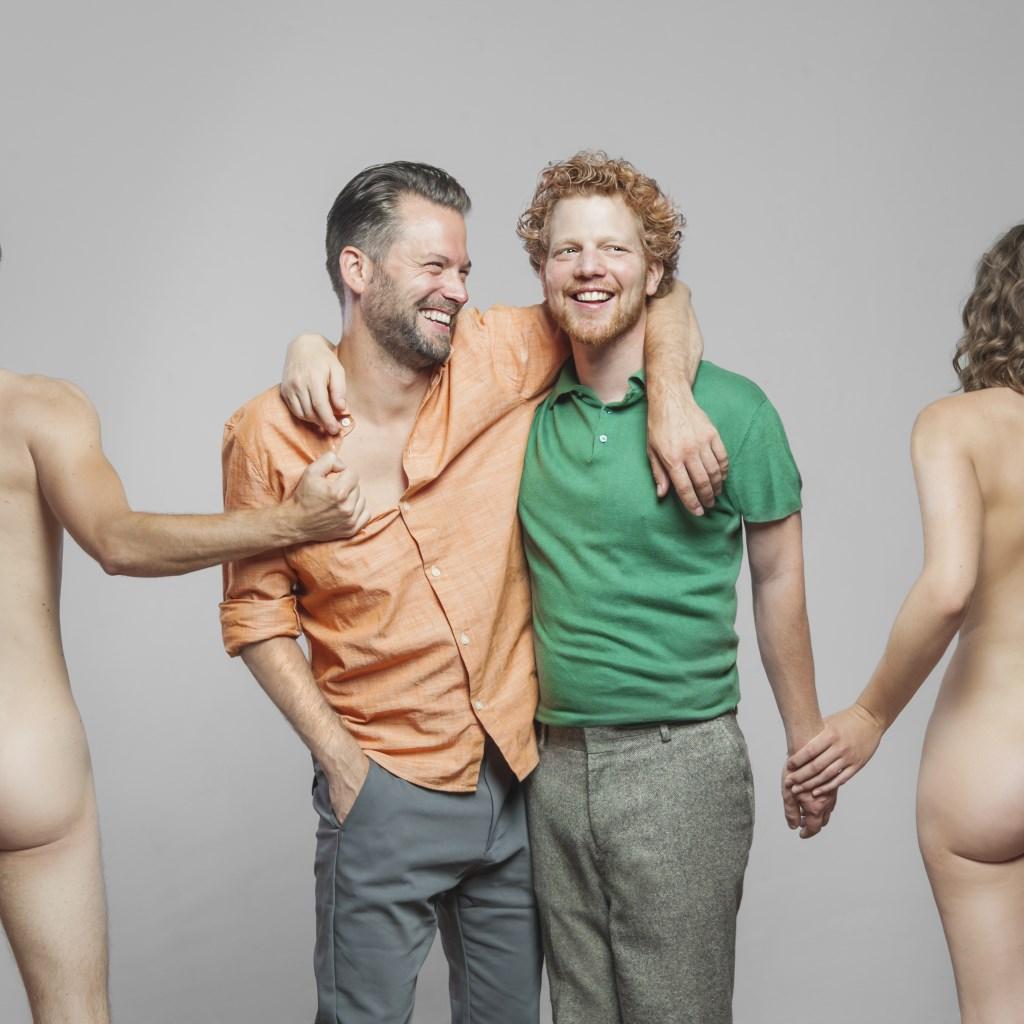 Kevin Hassing en Pepijn Schoneveld als Hehobros. (Foto: Photographer: Casper Koster) © rodi