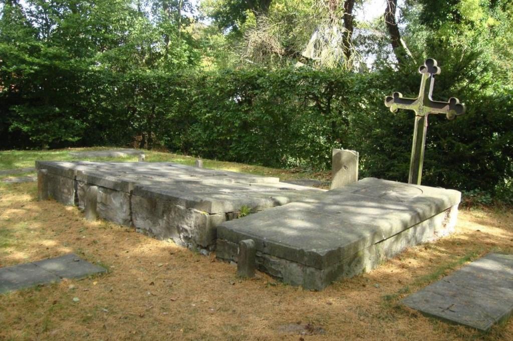 De oude begraafplaats in bergen. (Foto: aangeleverd) © rodi
