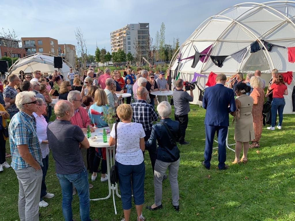 Opening KunstEiland.  (Foto: Yvette van der Does) © rodi