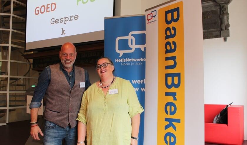 Arnout Korf en Rebecca van Leeuwen ontwikkelden Baanbreker voor de werkzoekende 45-plusser.