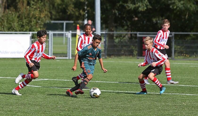 Nu al is te zien, dat de jongens van de topclubs over veel talent beschikken. Zo ook de voetballers van Ajax en Sparta.
