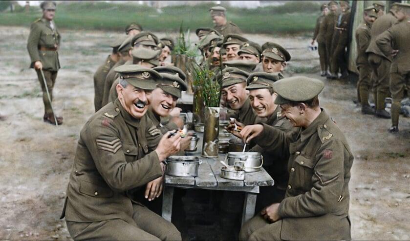 Scene uit uit de film 'They shall not grow old'.