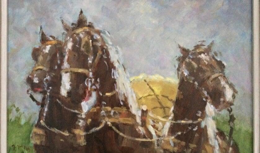 Een van de werken van Jan Gilling.
