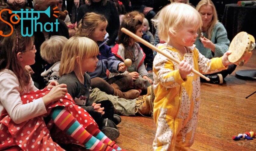 Muziek voor jong en oud in Het Zonnehuis.