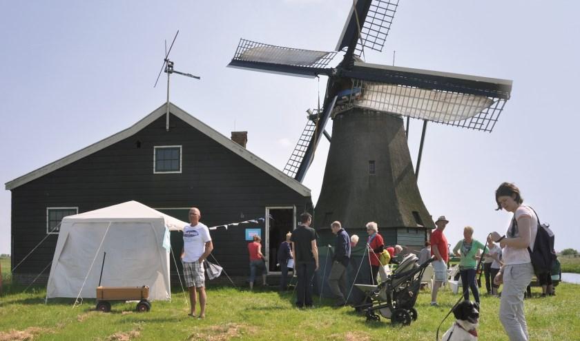 Iedereen is welkom bij de Zaande Molendag. Ook dit jaar wordt er op mooi weer gerekend.
