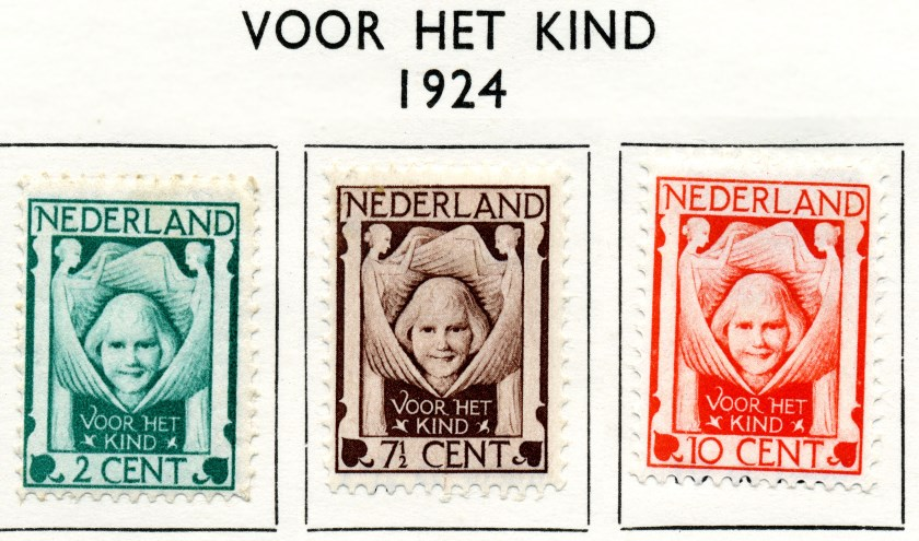Kinderpostzegels waren vroeger ook al te koop