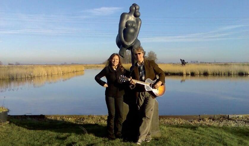 Ad van der Veen en Kirsten Deligny