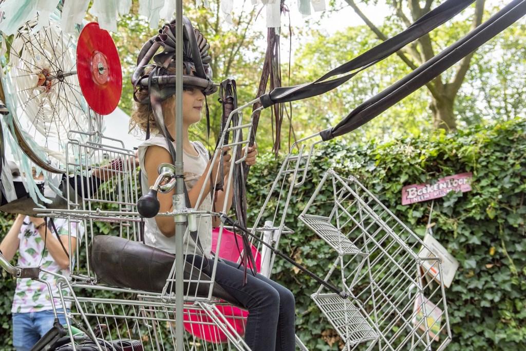 Wie is de recycle-koning of koningin tijdens het SuperSchoon Festival?  © rodi