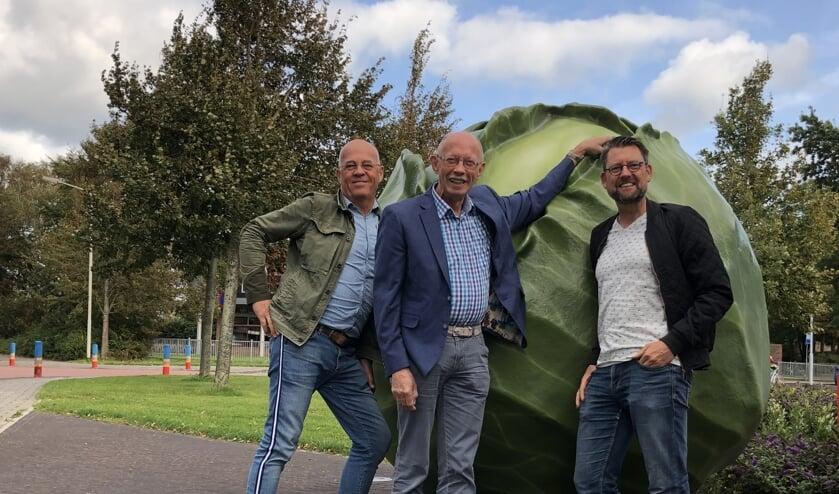 De oprichters Harry van Steden, Theo de Graaf en Willem Poortvliet hebben Lokatietheater KoolCollectief opgericht.