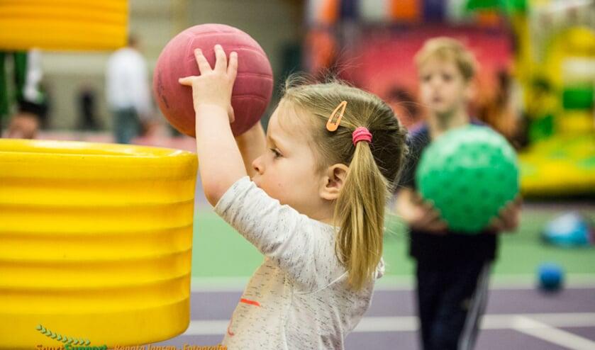 Door sporten word je blijer en actiever.