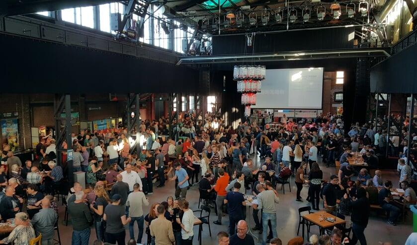Kampanje voor derde keer decor voor KeyKeg International Beer Festival.
