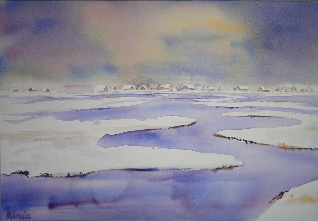 Een sneeuwlandschap.  (Foto: Aangeleverd) © rodi