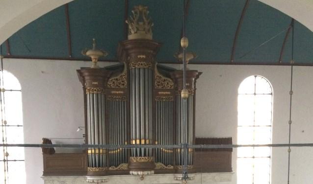 Het orgel van de Oostzijderkerk.