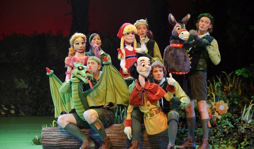 De Sprookjesbosboombewoners komen naar het Kennemer Theater.