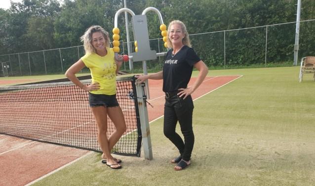 Lesley en Mariska Gul zijn sinds juli de nieuwe beheerders van het sportpark.