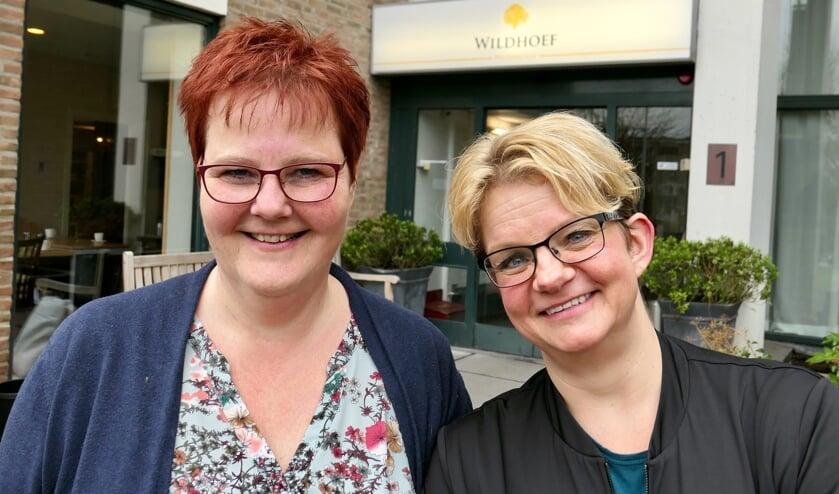 Janny Spek en Wendy van de Stolpe.