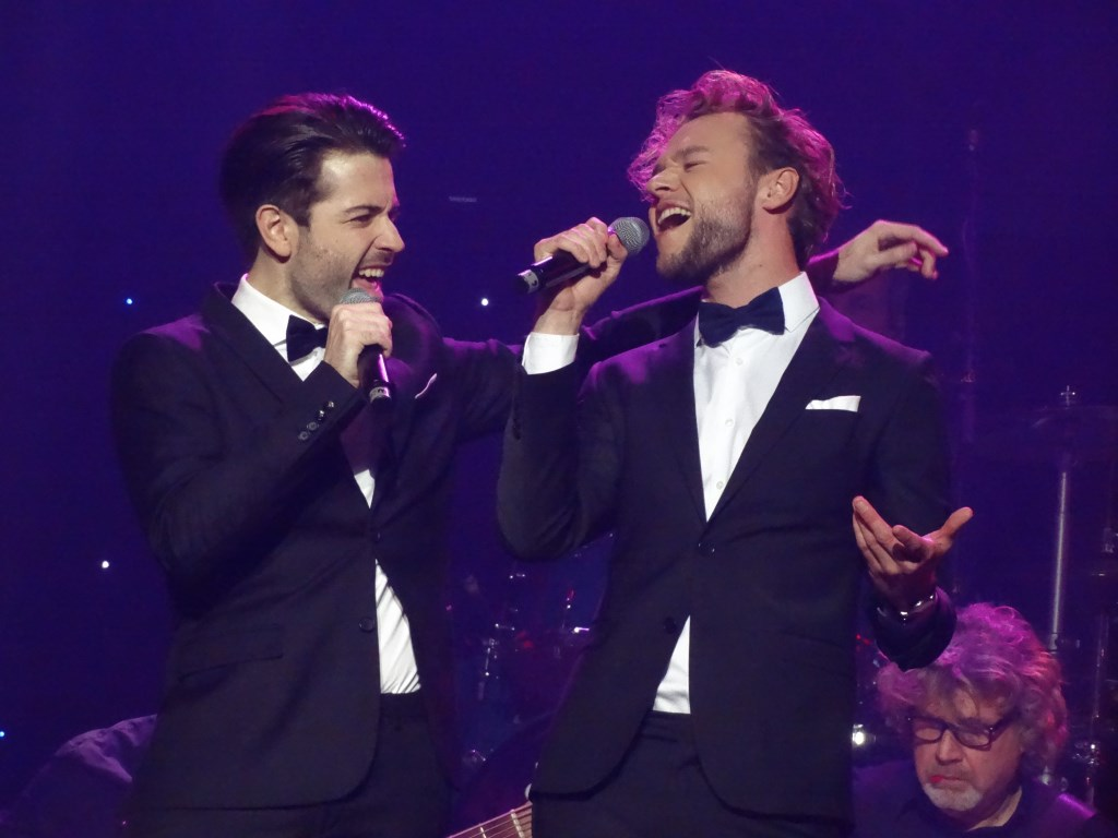 De zangers van 'Very Merry Christmas Band.  © rodi