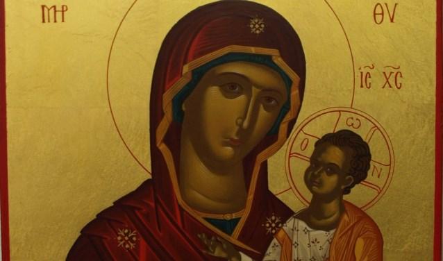 De Moeder Gods Hodigitria (Zij die de Weg wijst).