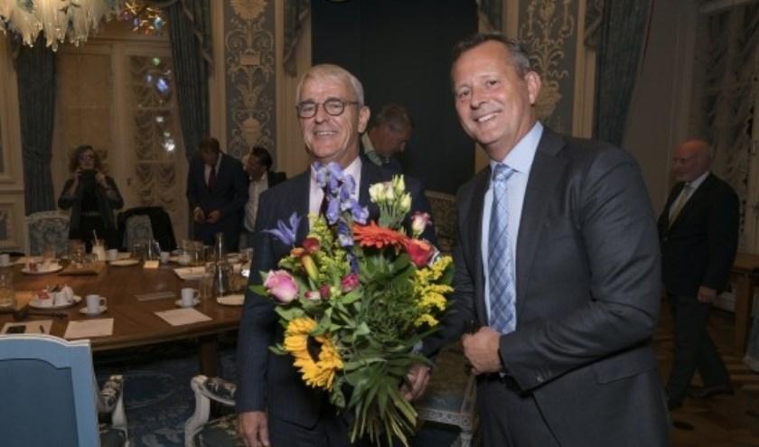 Dhr. Nobel (l) benoemd tot waarnemend burgemeester Den Helder