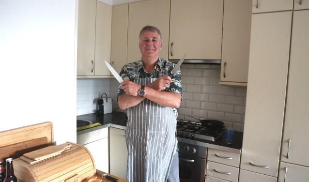 Michel van Ewijk is één van de thuiskoks die mee doet met 'de Kook Voor Je Buur 10Daagse.'