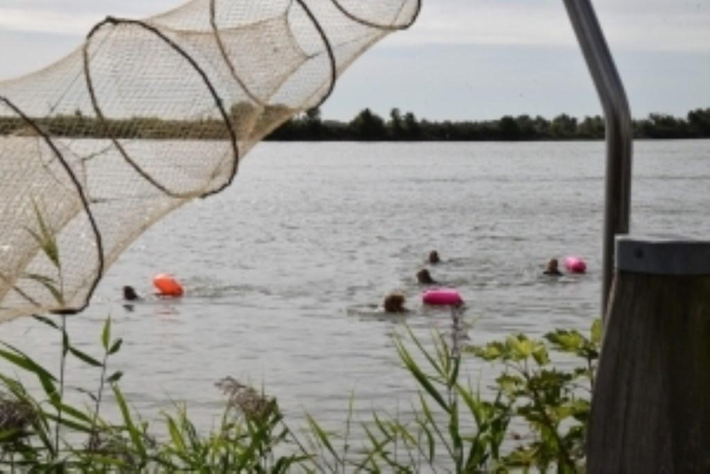 Genieten van zwemmen in de natuur. (Foto: niels appelo) © rodi