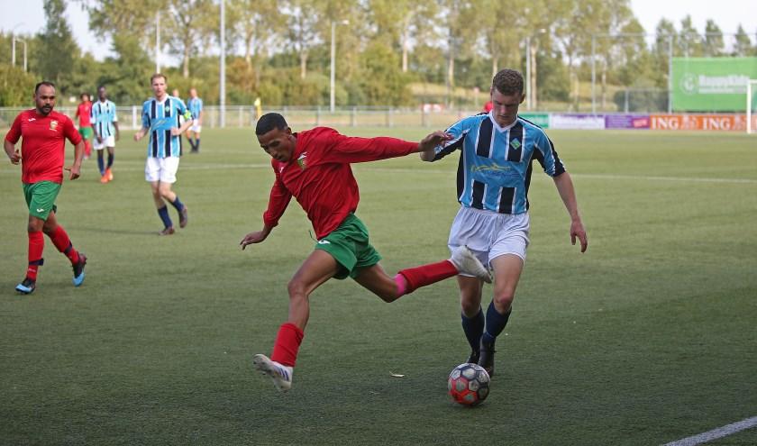 UNO en FC Portugaal zijn aan elkaar gewaagd wat een aantrekkelijke wedstrijd oplevert.