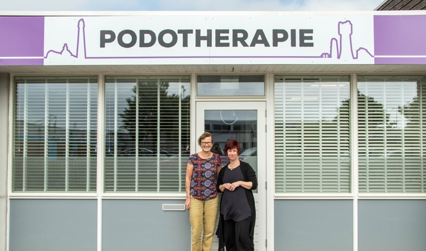 Podotherapie Abrahams en podotherapeut Schrama samen Podotherapie Den Helder.