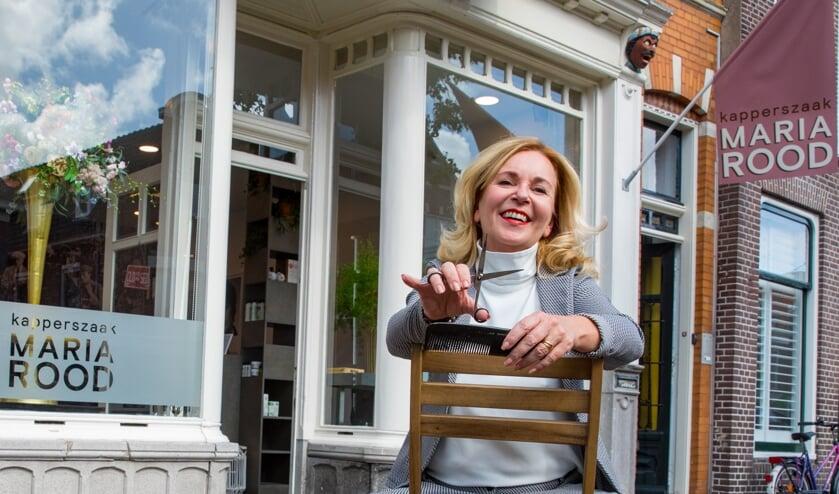 Maria Rood voor haar Kapperszaak Alkmaar.