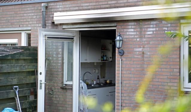 Voor de tweede keer in korte tijd ontstond in de woning aan de Horstermeerstraat brand in de keuken.