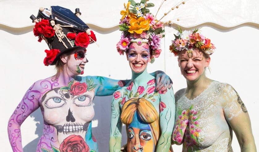 Deze dames waren te zien tijdens de Zaanse UITmarkt. Een vast evenement in onze agenda.