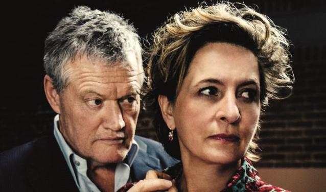 Porgy Franssen en Jacqueline Blom.