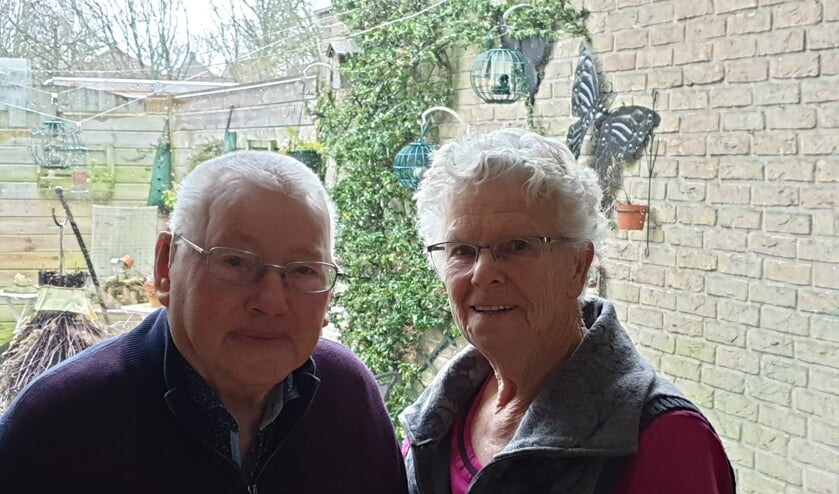 Jetze en Elly Muizelaar vierden zaterdag hun 65-jarig jubileum.
