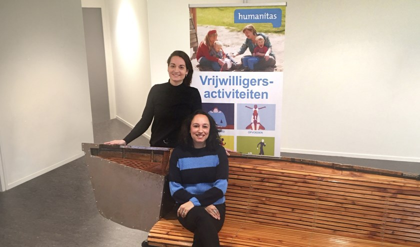 Denise van Dijk en Angelique Lewakabessy.