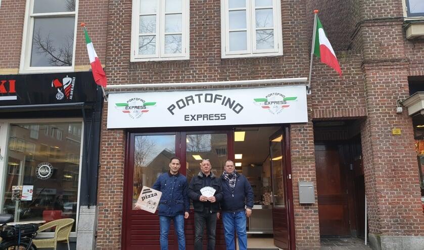 Portofino is hét adres voor huisgemaakte pizza's en pasta's.