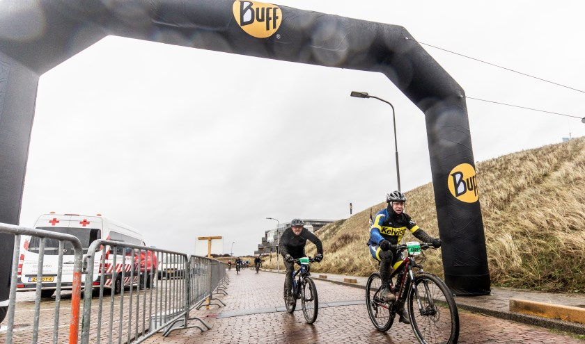 In Wijk aan Zee zullen de mountainbikers moeten klimmen.
