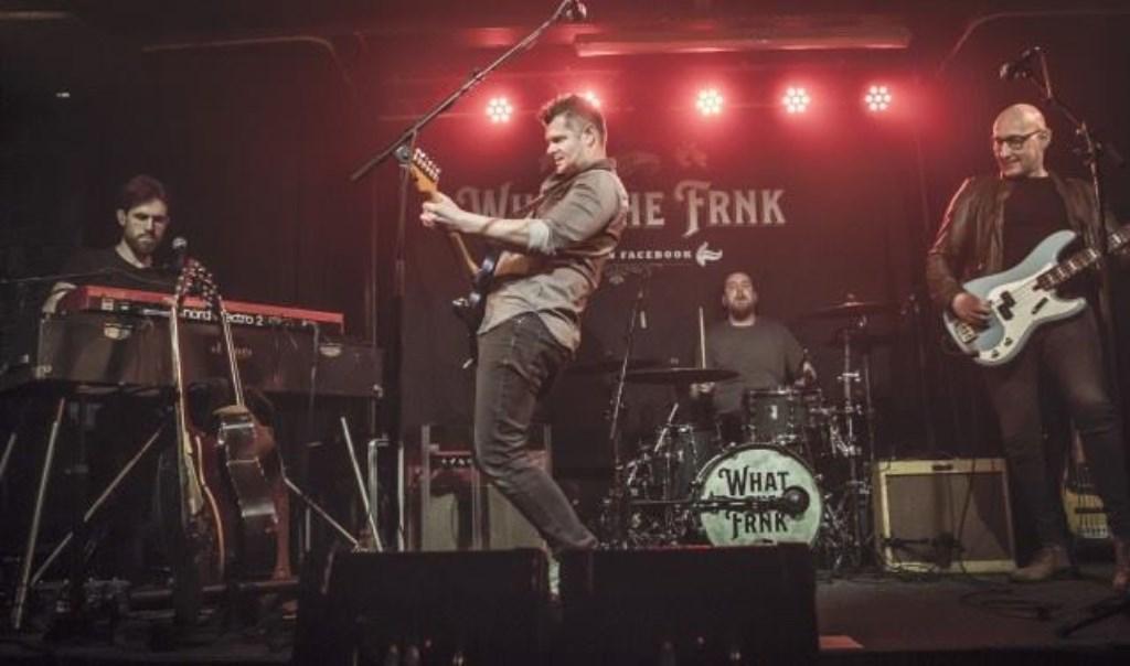 What The FRNK op het podium. Foto: aangeleverd © rodi