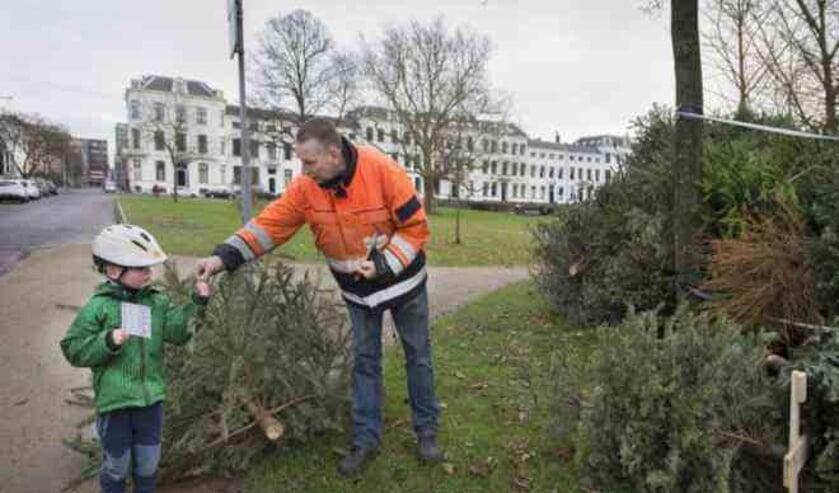 Elke ingeleverde boom levert de brenger € 0,50 op!