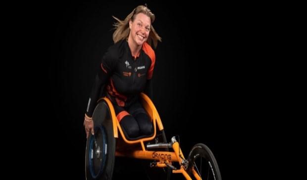 Margret wil dolgraag naar de Paralympische Spelen in Tokio.
