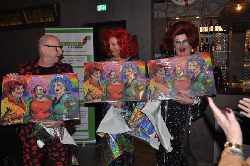 Onder anderen de Gran Diva's, Miss Baksel en Donatella waren aanwezig.