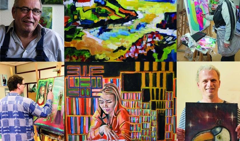 Veelzijdige en persoonlijke expositie in galerie Onopgemerkte Schatten in Enkhuizen.