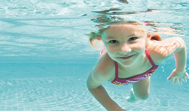 Lekker zwemmen.