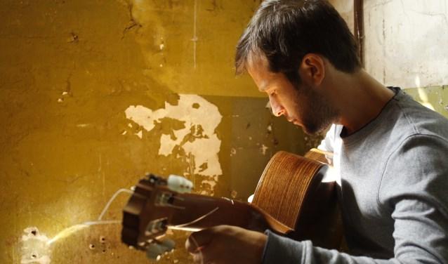Flamencogitarist Edsart Udo de Haes