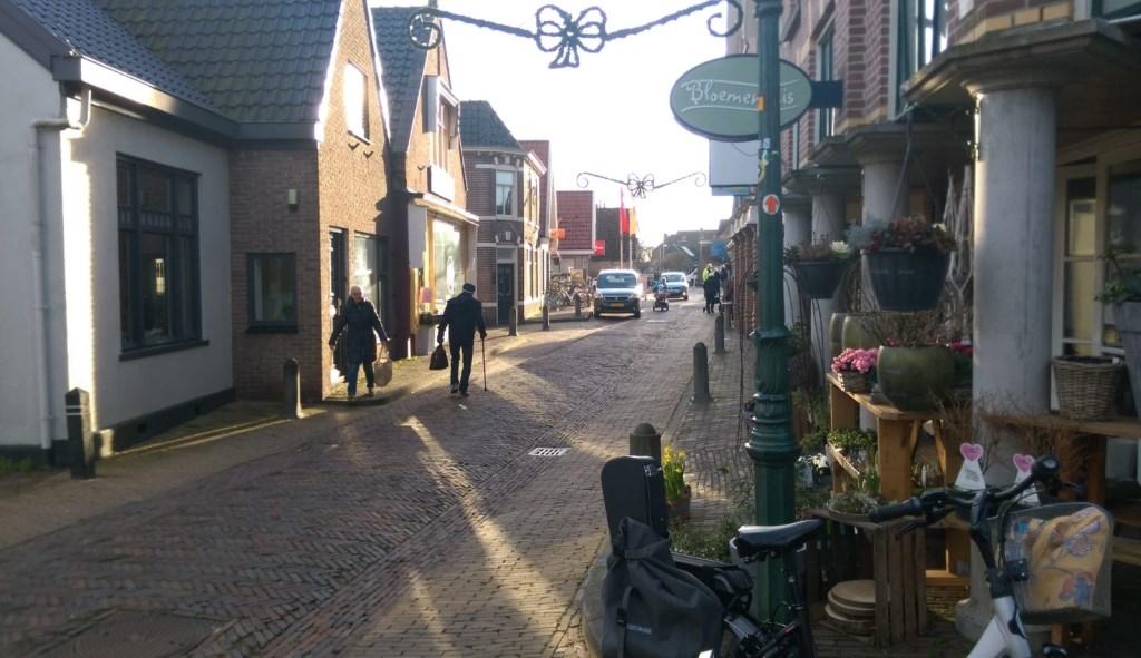 Doorkijkje in winkelstraat van Hippolytushoef. (Foto: Jeroen Rem) © rodi