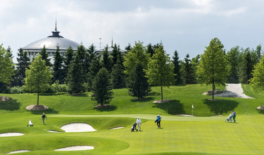 De Skolkovo Golfclub niet ver van Moskou is een prima ontwerp van Jack Nicklaus.