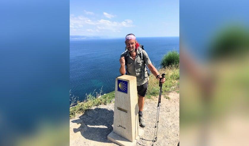 Klaas vertelt over zijn pelgrimstocht van Spanbroek naar het Spaanse Santiago de Compostella.