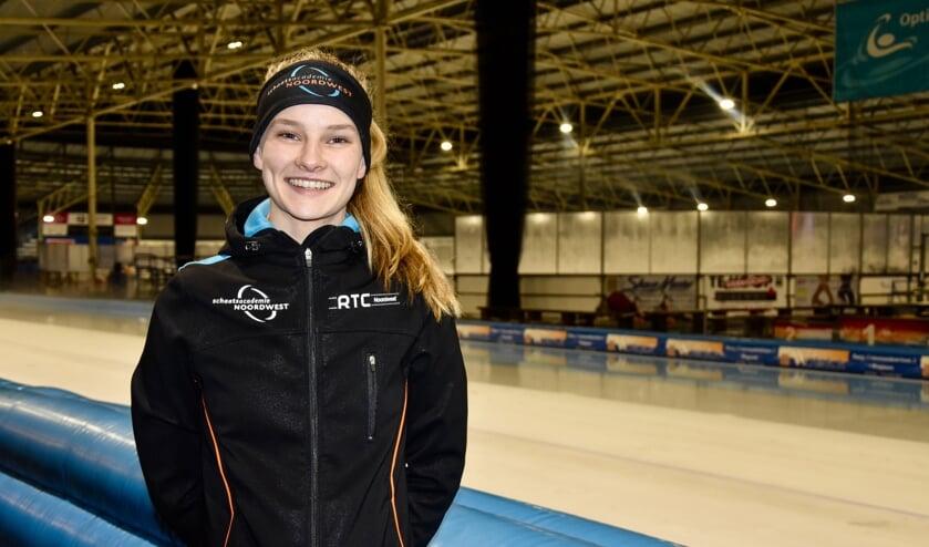 Bente Kerkhoff traint hard op haar weg naar de Olympische Spelen.