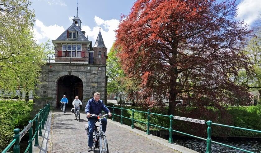 Deelnemers genieten van al het moois dat Hoorn en haar omgeving te bieden heeft.