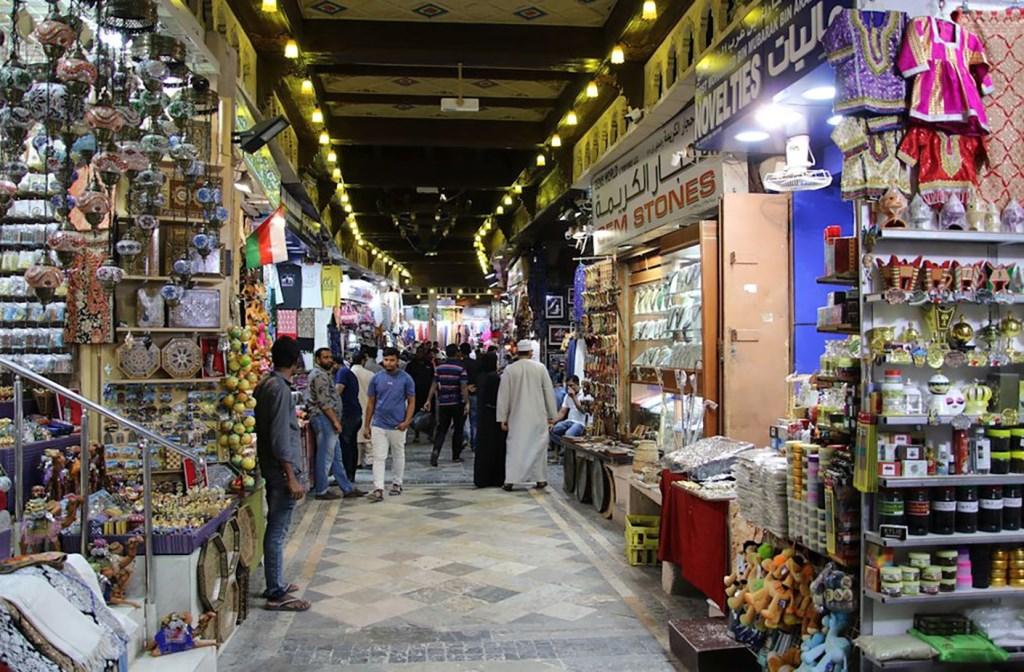 Een bezoek aan een soukh in Muscat is een must.  © rodi