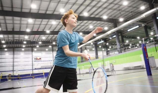 Lekker badmintonnen!
